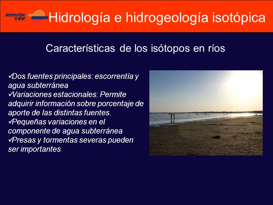 Hidrología e hidrogeología isotópica