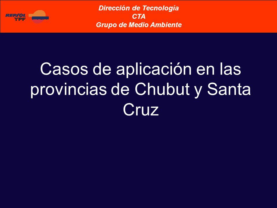 Casos de aplicación en las provincias de Chubut y Santa Cruz