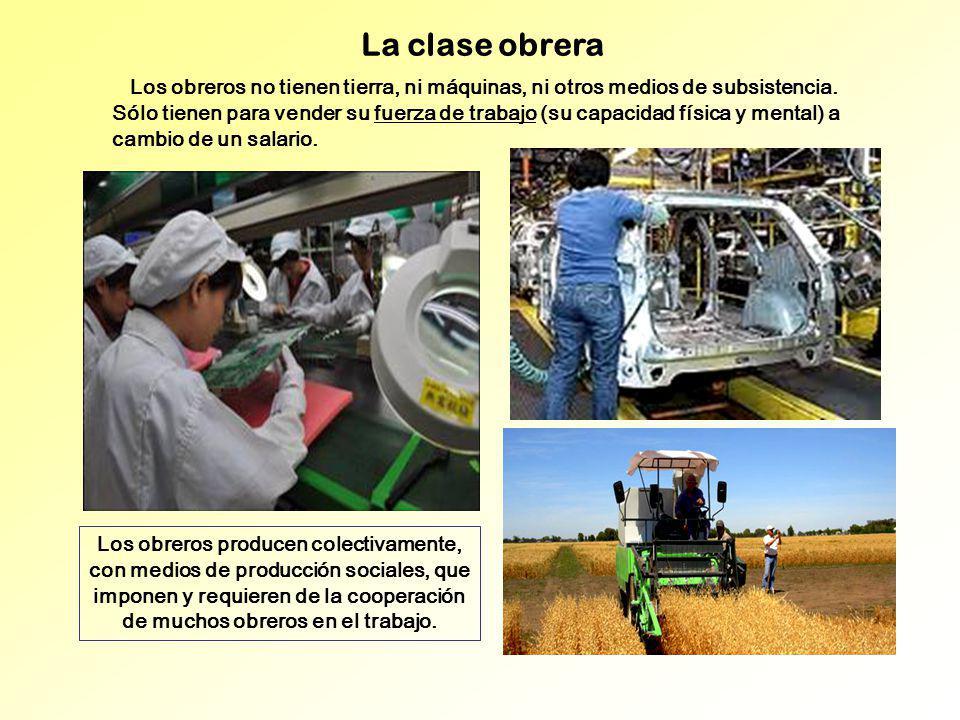 La clase obrera