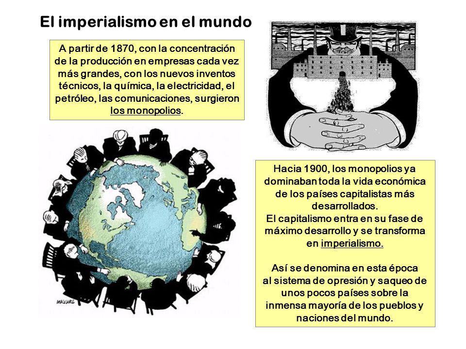 El imperialismo en el mundo