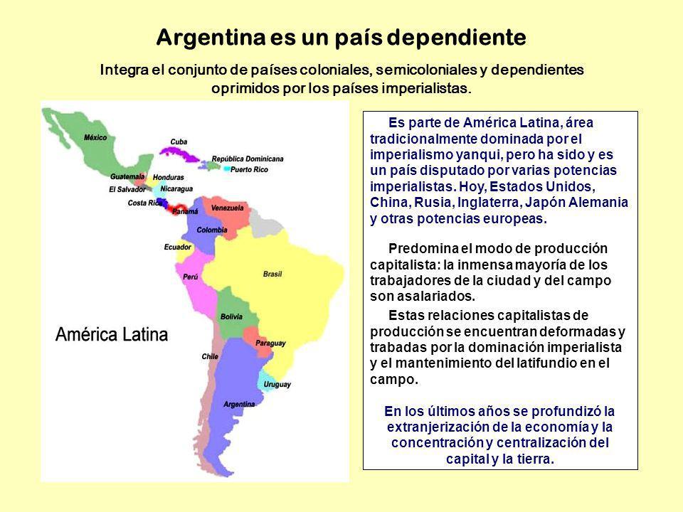 Argentina es un país dependiente