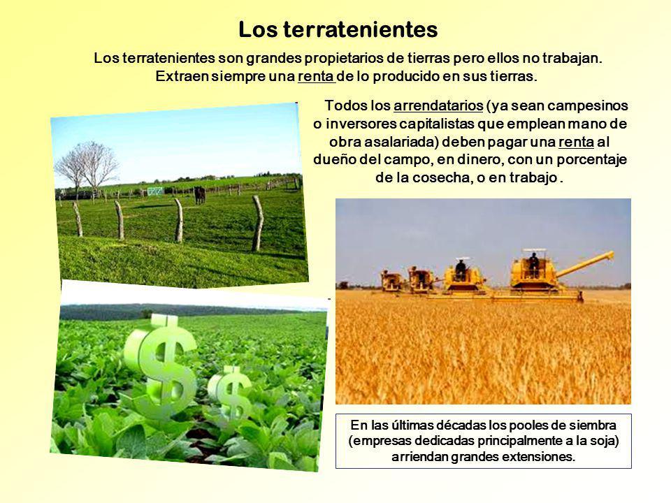 Los terratenientes