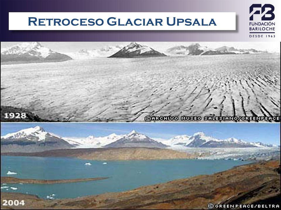 Retroceso Glaciar Upsala – ARGENTINA