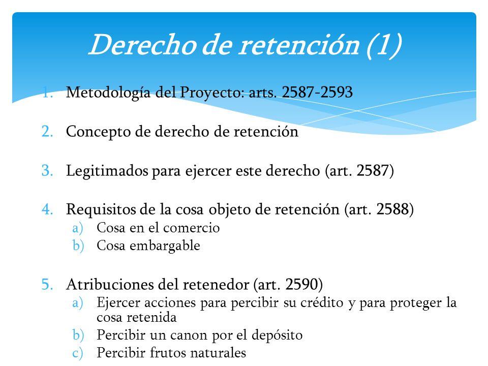 Derecho de retención (1)