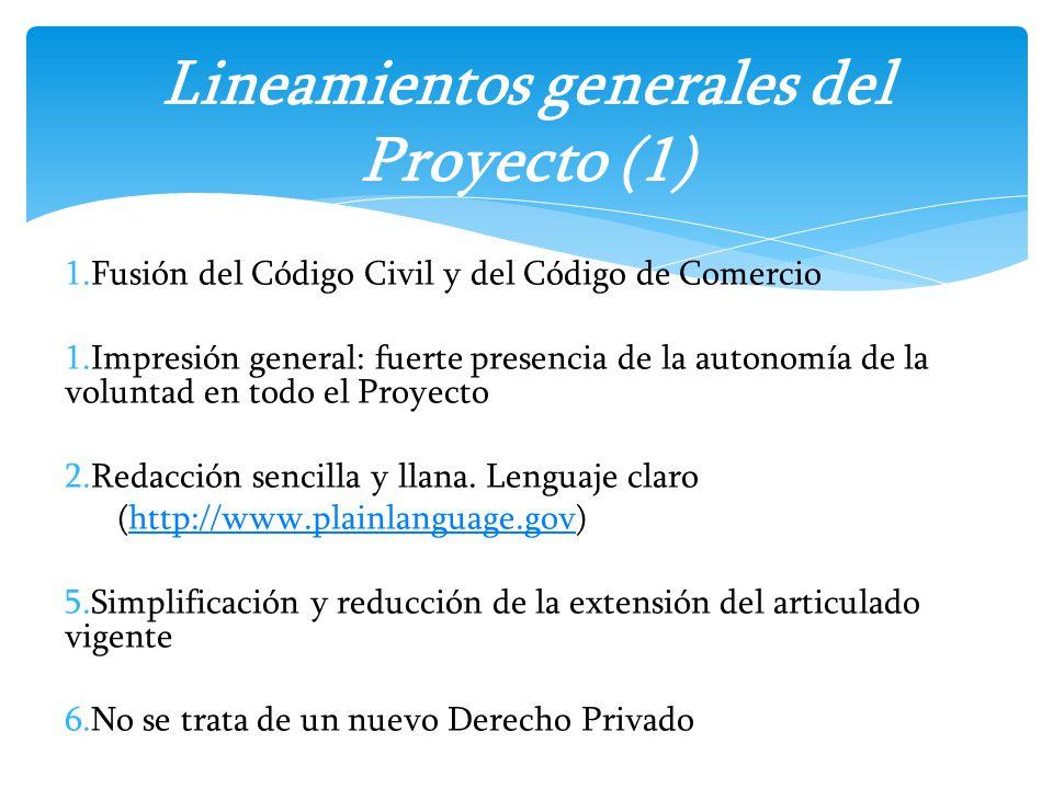 Lineamientos generales del Proyecto (1)