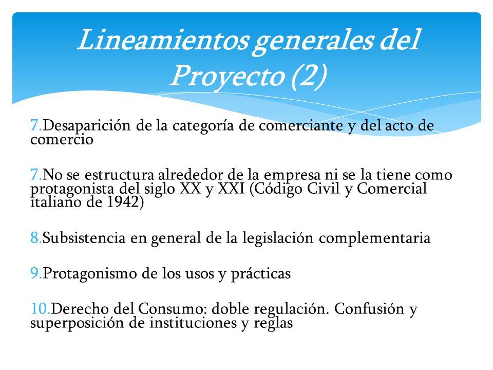 Lineamientos generales del Proyecto (2)
