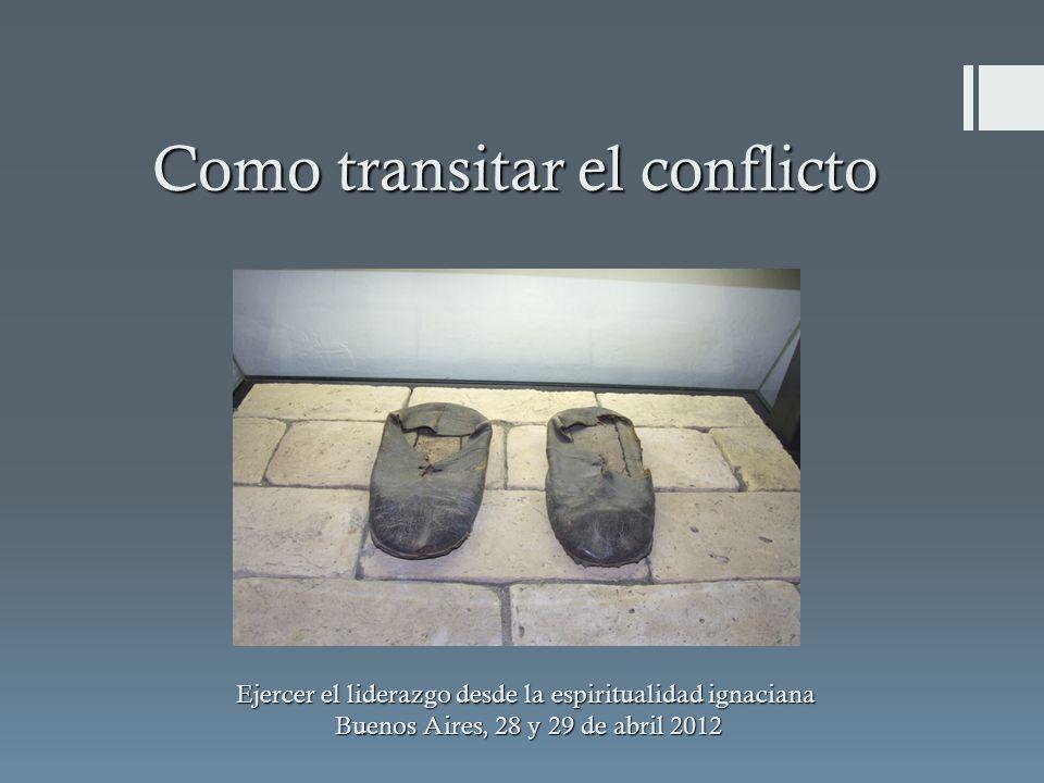 Como transitar el conflicto