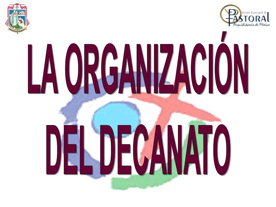 LA ORGANIZACIÓN DEL DECANATO