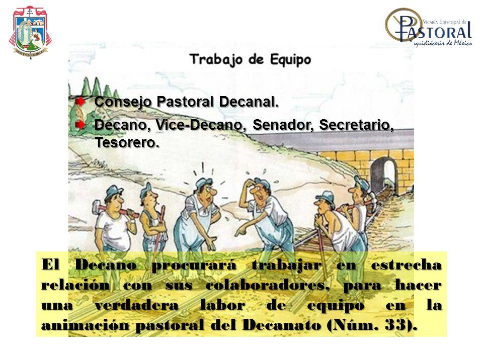 Consejo Pastoral Decanal.