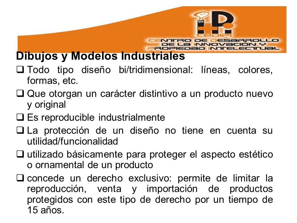 Dibujos y Modelos Industriales