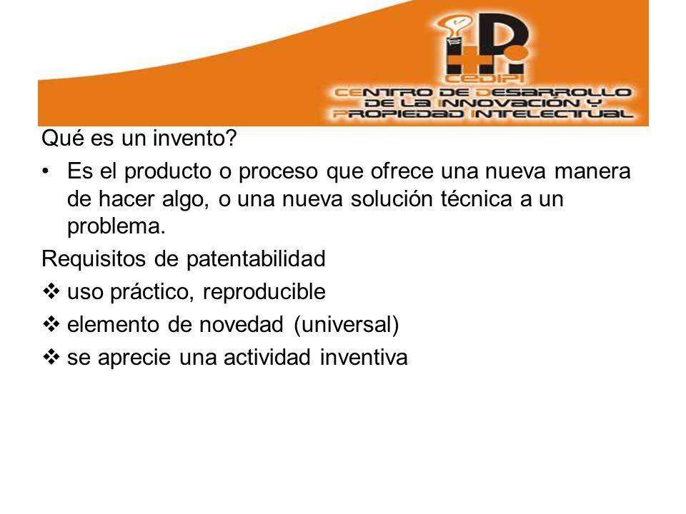 Qué es un invento Es el producto o proceso que ofrece una nueva manera de hacer algo, o una nueva solución técnica a un problema.