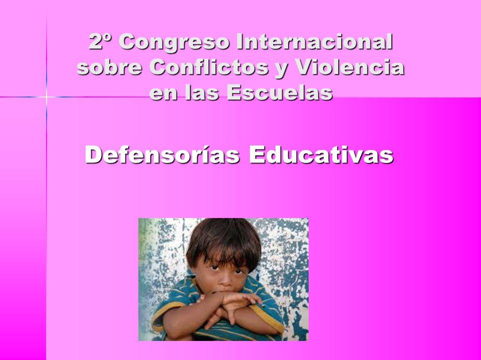 2º Congreso Internacional sobre Conflictos y Violencia en las Escuelas