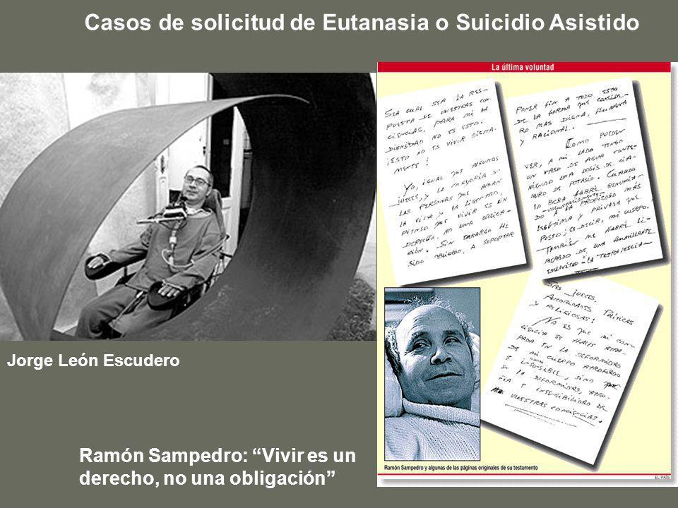 Casos de solicitud de Eutanasia o Suicidio Asistido