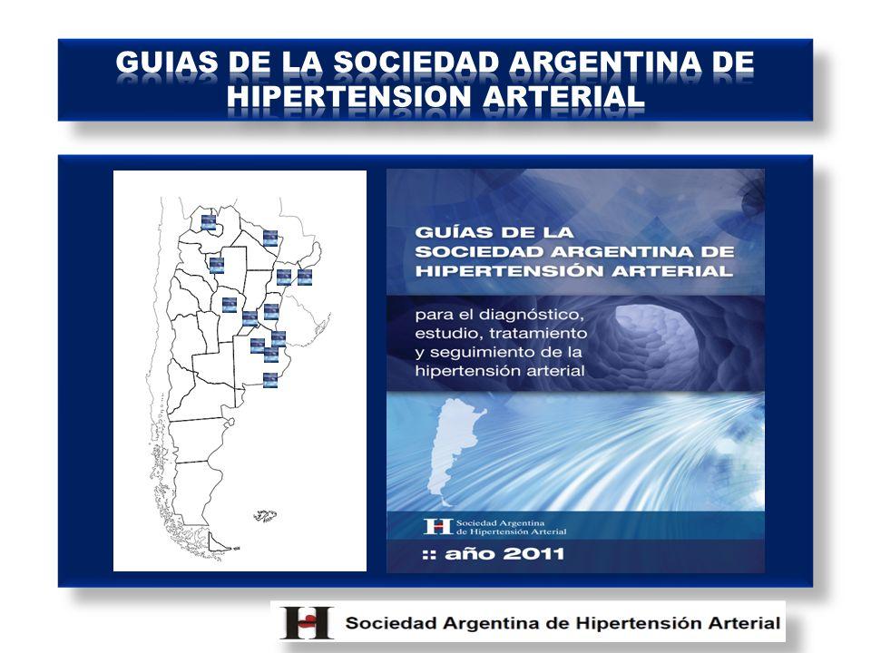 GUIAS DE LA SOCIEDAD ARGENTINA DE HIPERTENSION ARTERIAL