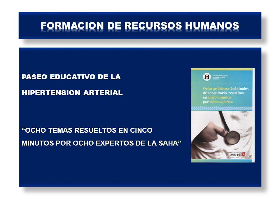 FORMACION DE RECURSOS HUMANOS
