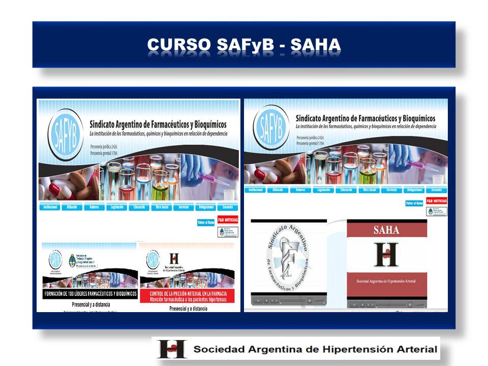 CURSO SAFyB - SAHA