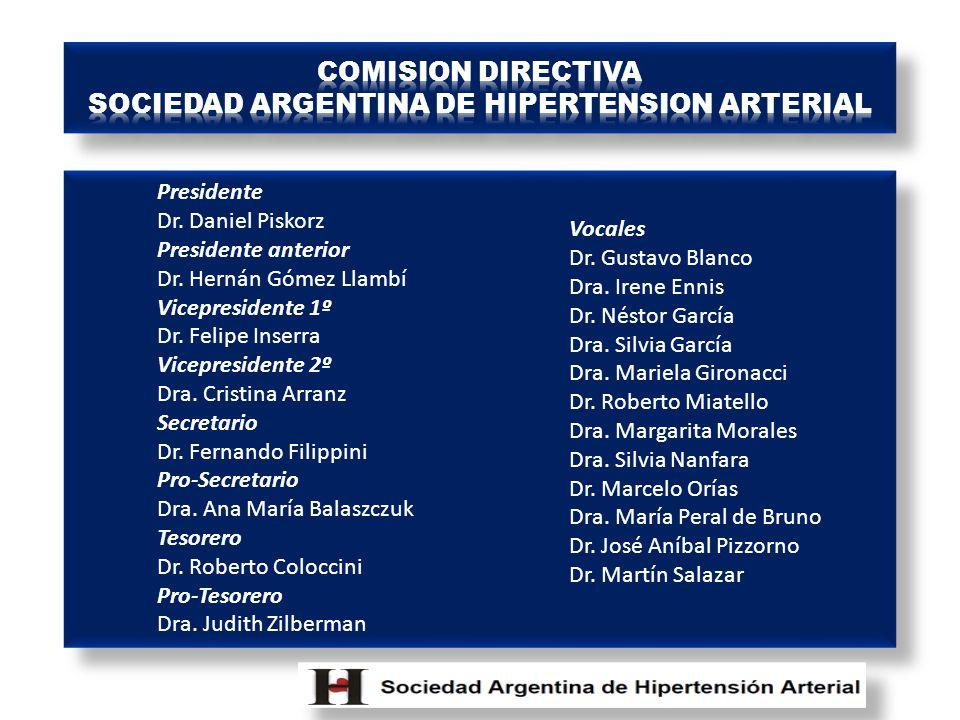 SOCIEDAD ARGENTINA DE HIPERTENSION ARTERIAL