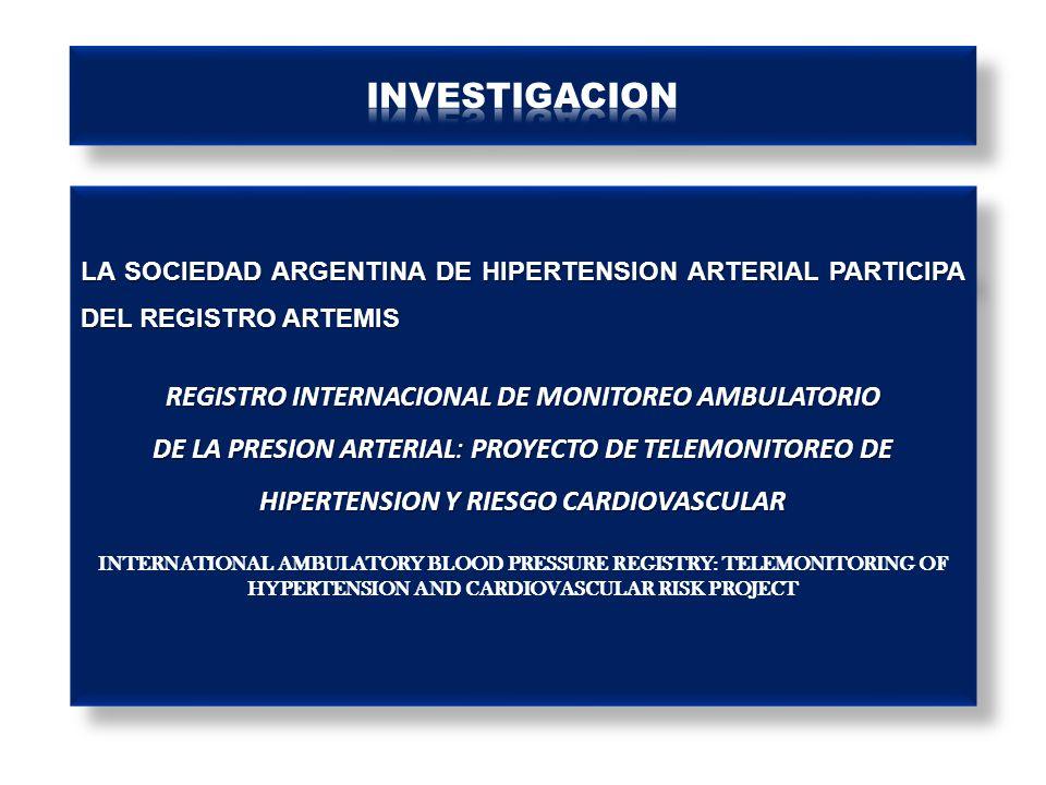 REGISTRO INTERNACIONAL DE MONITOREO AMBULATORIO