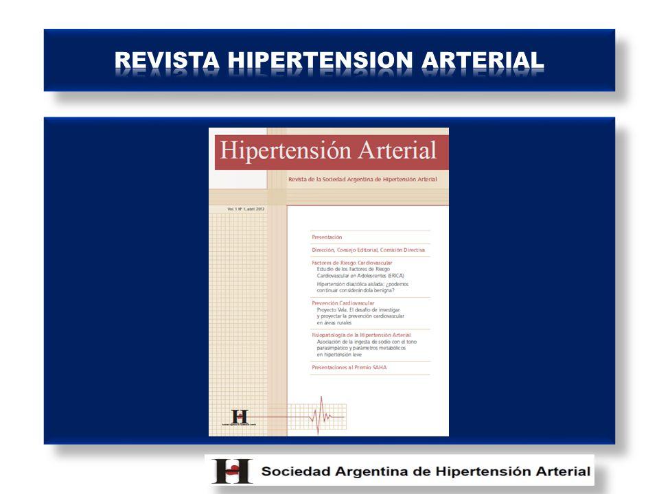 REVISTA HIPERTENSION ARTERIAL
