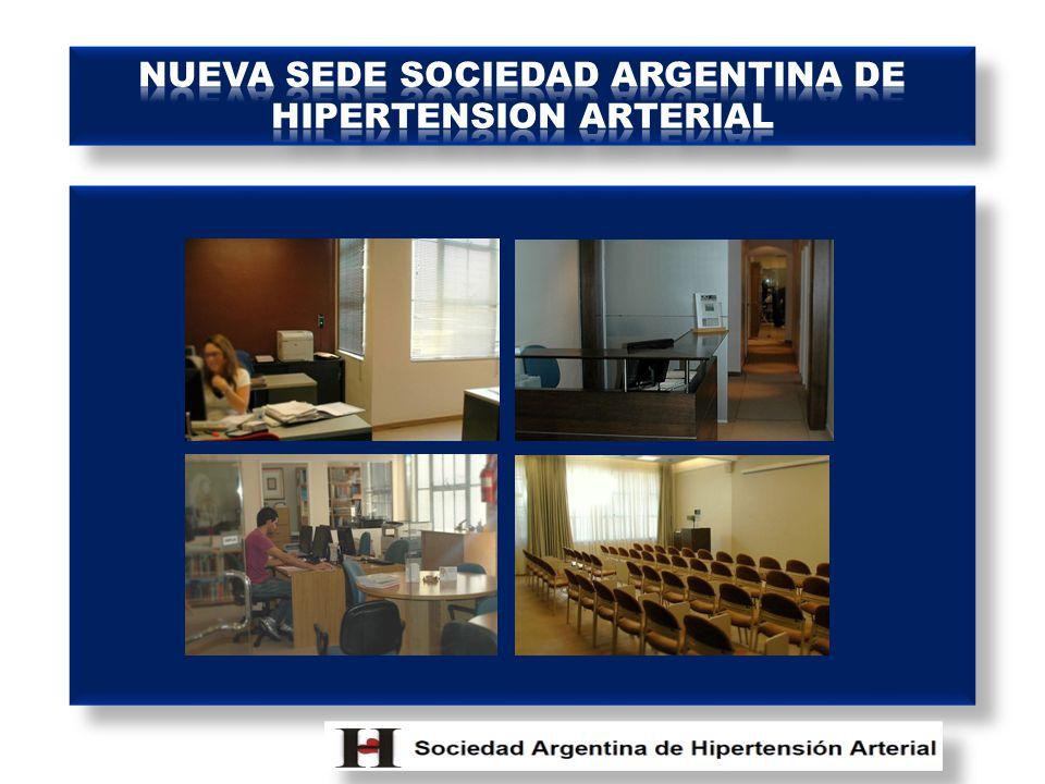 NUEVA SEDE SOCIEDAD ARGENTINA DE HIPERTENSION ARTERIAL