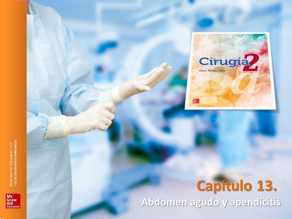 Capítulo 13. Abdomen agudo y apendicitis
