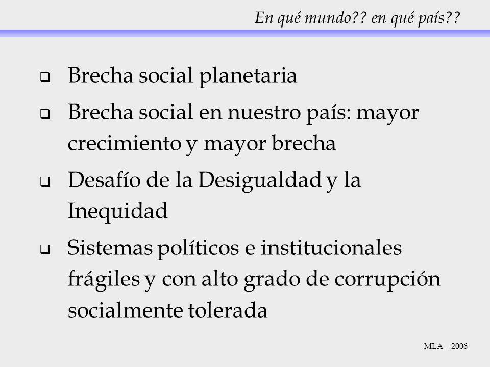 Brecha social planetaria