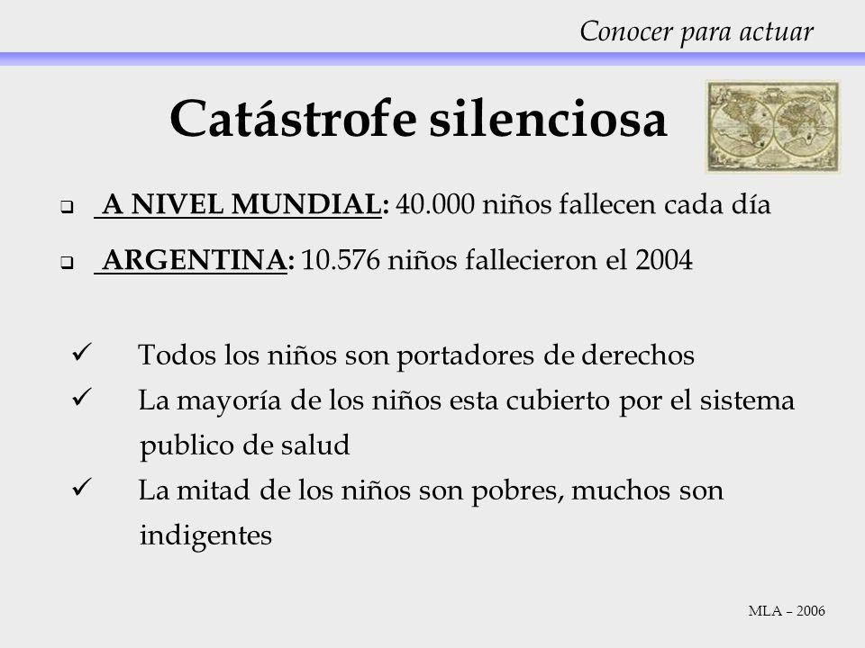 Catástrofe silenciosa