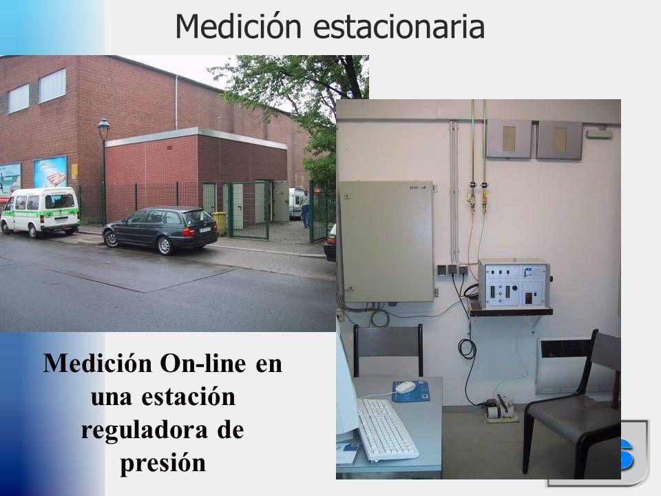 Medición estacionaria