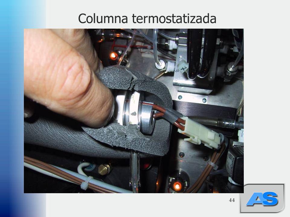 Columna termostatizada