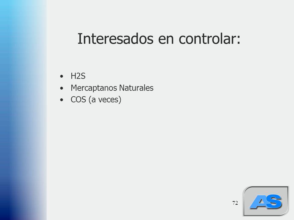 Interesados en controlar: