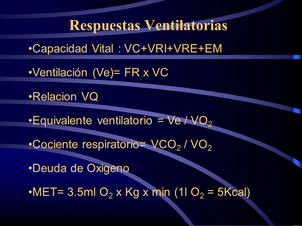 Respuestas Ventilatorias