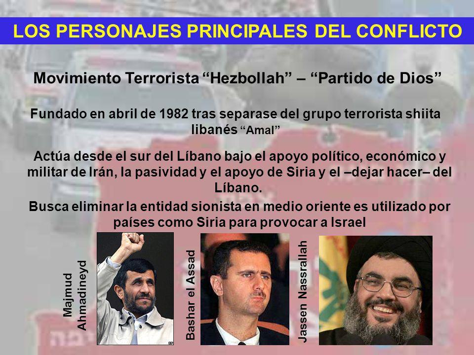 LOS PERSONAJES PRINCIPALES DEL CONFLICTO