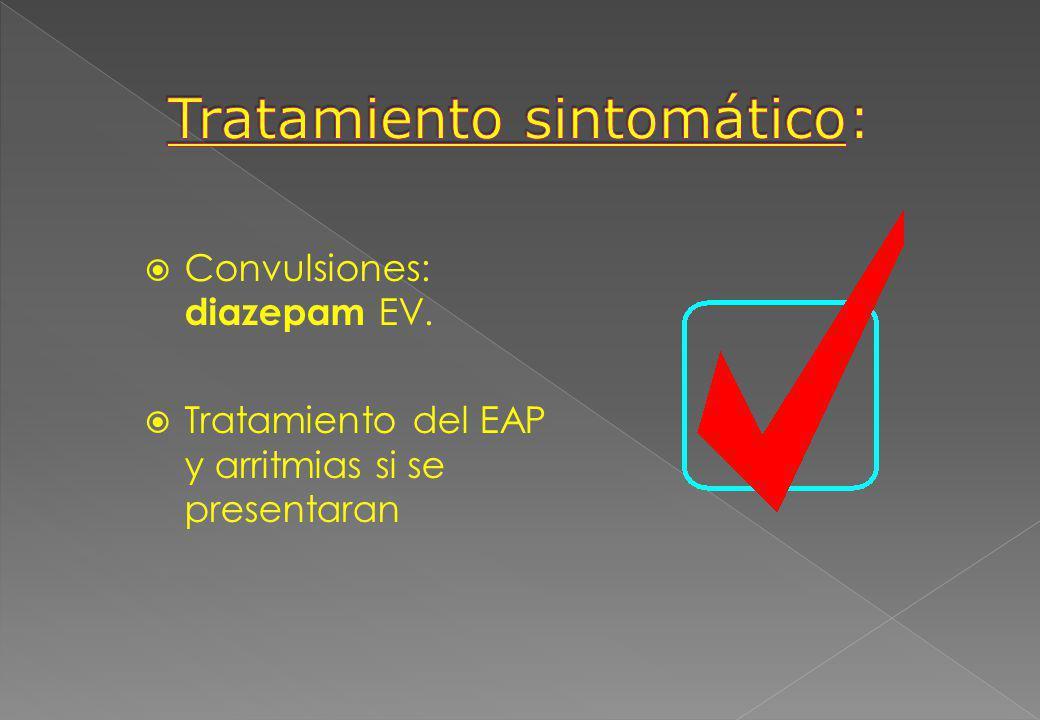 Tratamiento sintomático:
