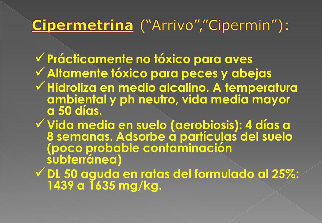 Cipermetrina ( Arrivo , Cipermin ):