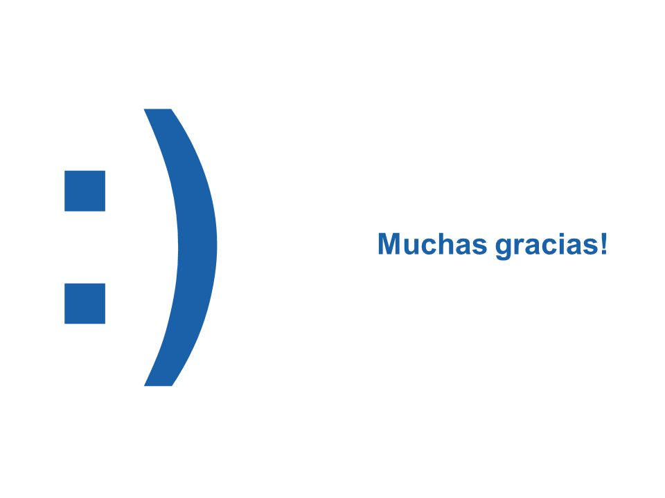 :) Muchas gracias!