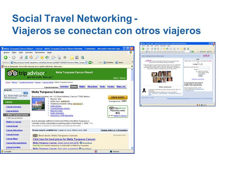 Social Travel Networking - Viajeros se conectan con otros viajeros