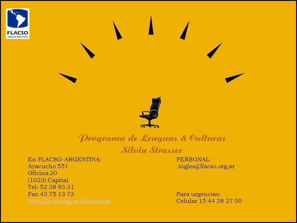 Programa de Lenguas & Culturas