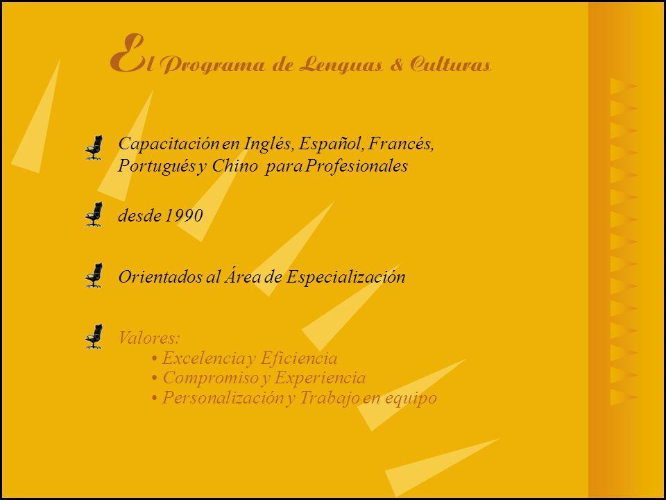 El Programa de Lenguas & Culturas