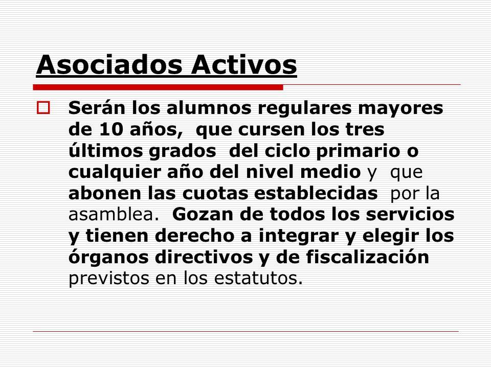 Asociados Activos