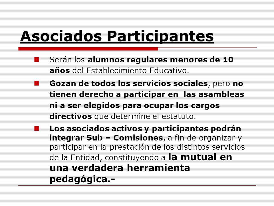 Asociados Participantes