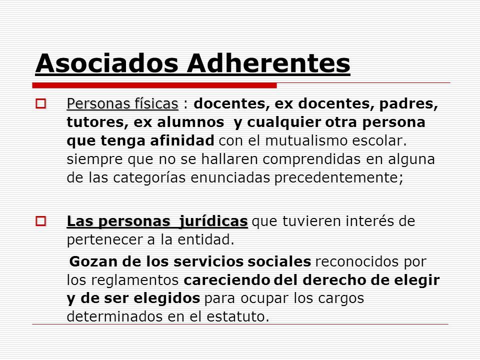 Asociados Adherentes