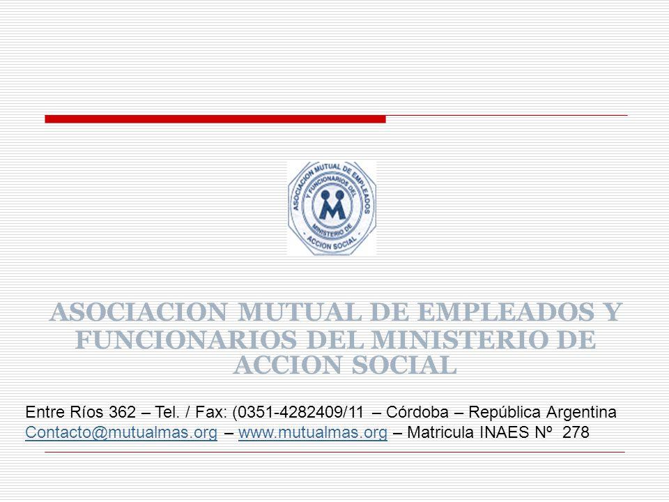 ASOCIACION MUTUAL DE EMPLEADOS Y