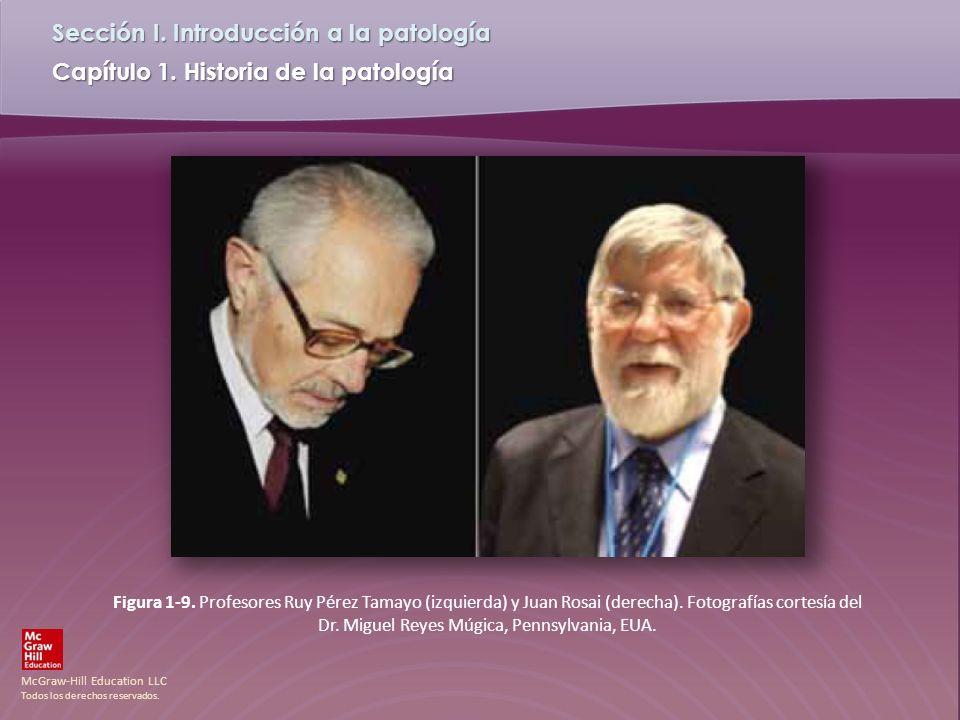 Figura 1-9. Profesores Ruy Pérez Tamayo (izquierda) y Juan Rosai (derecha).