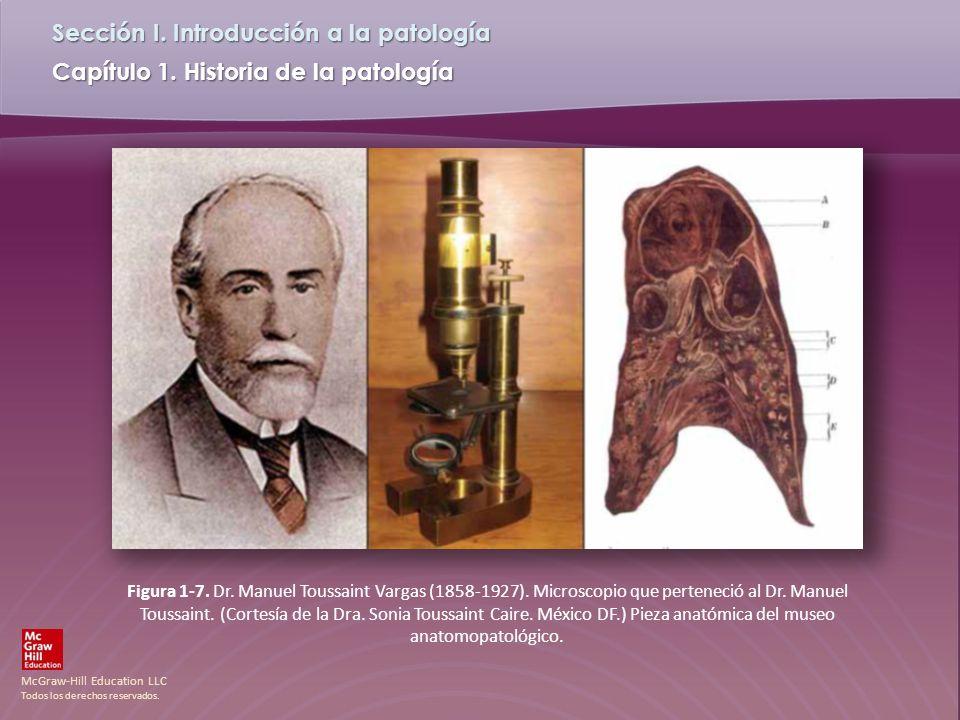 Figura 1-7. Dr. Manuel Toussaint Vargas (1858-1927)