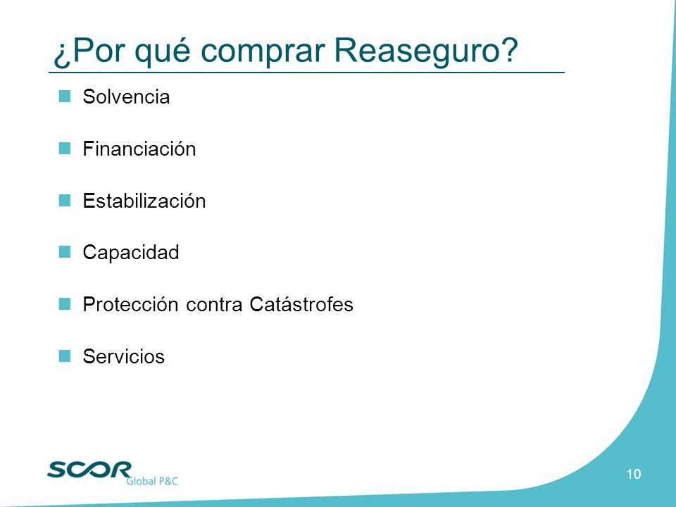 ¿Por qué comprar Reaseguro