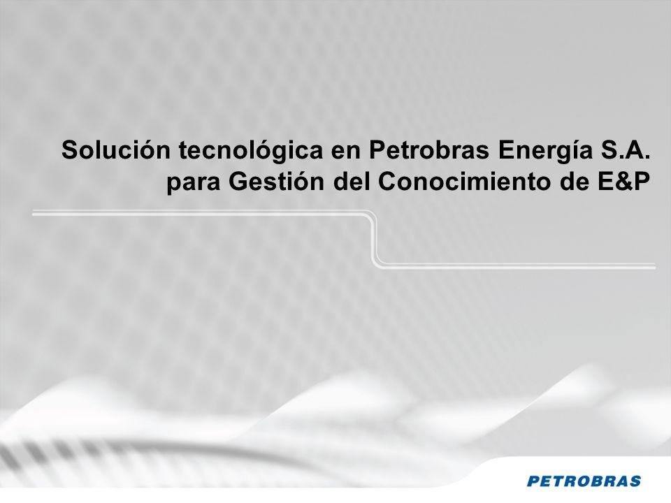 Solución tecnológica en Petrobras Energía S. A