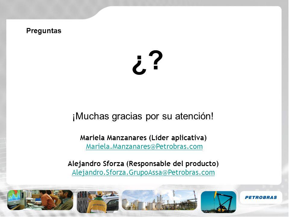 Mariela Manzanares (Líder aplicativa)