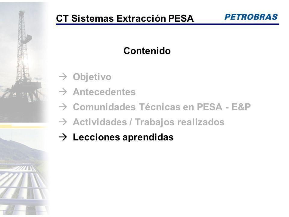 CT Sistemas Extracción PESA