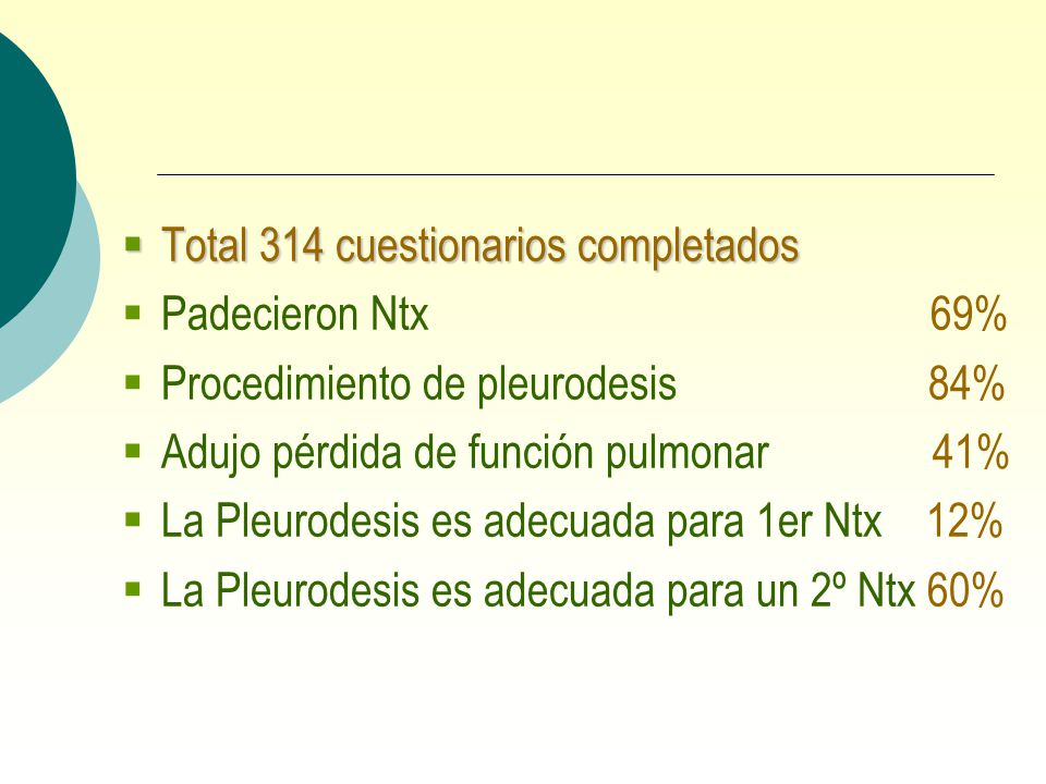Total 314 cuestionarios completados