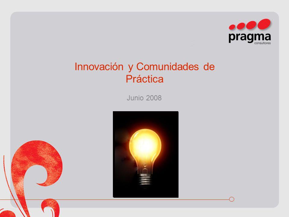 Innovación y Comunidades de Práctica
